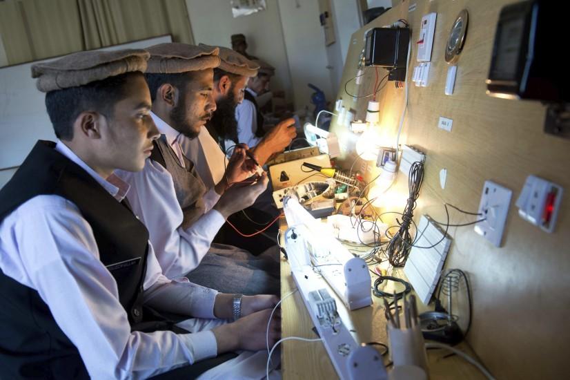 Clases para exterroristas en Pakistán