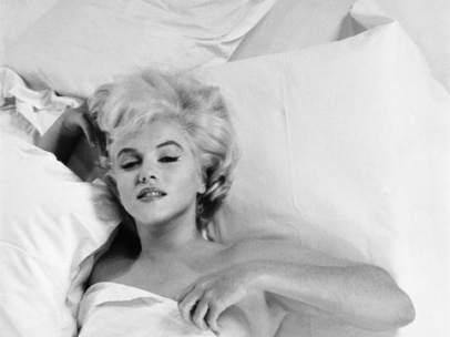 Una de las imágenes de Marilyn Monroe en la exposición 'Tentación-es Marilyn'.