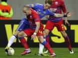 Torres en el Steaua - Chelsea