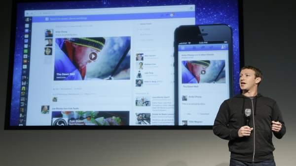 Zuckerberg y el nuevo Facebook