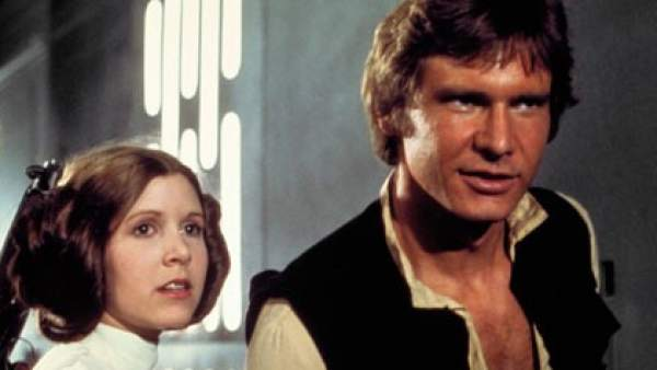 Mark Hamill, Carrie Fisher y Harrison Ford