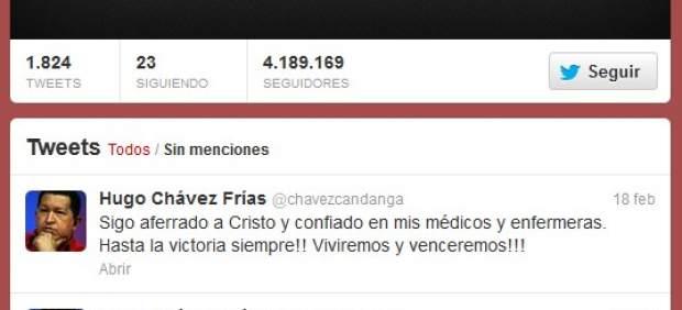 Twitter Ch�vez