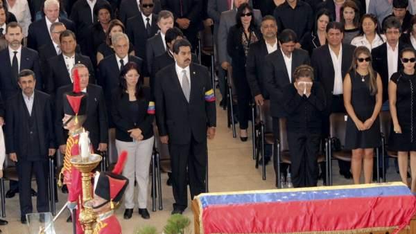 Funeral de Estado en Venezuela