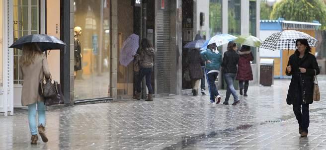 Lluvia en Ciudad Real