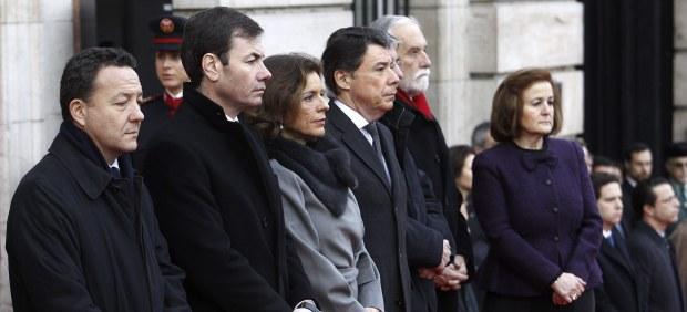 Ignacio González y Ana Botella