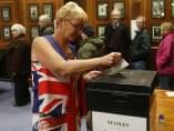 Segunda jornada de votación en las islas Malvinas