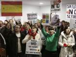 Protesta de los trabajadores de Iberia