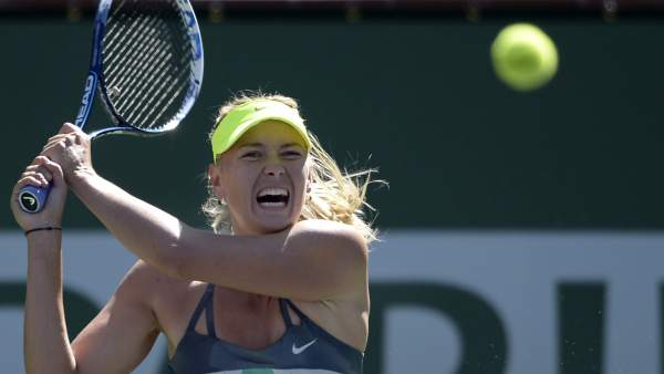 Maria Sharapova en Indian Wells