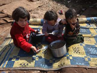Niños sirios