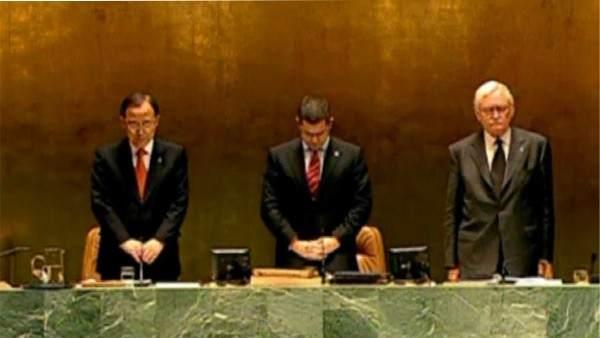 Minuto de silencio en la ONU por Chávez