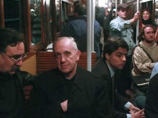 Viajando en metro