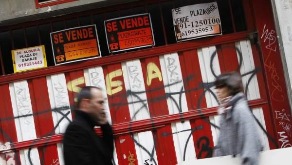 Madrid vive una sobreoferta de plazas de garaje por la - Alquiler plazas de garaje madrid ...