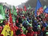 Protesta en Bruselas