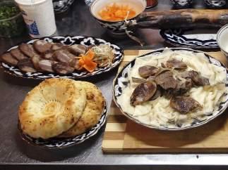 Platos preparados con carne de caballo