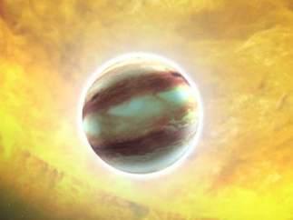 Exoplaneta gaseoso