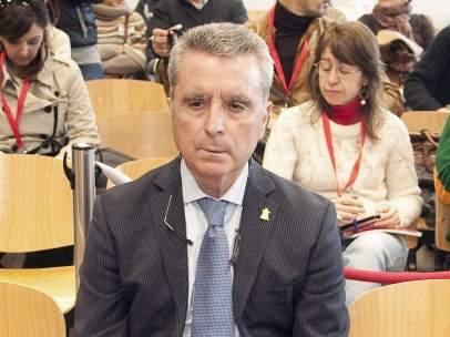 José Ortega Cano en los juzgados de Sevilla