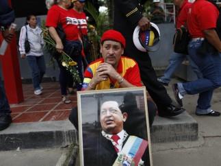 Despedida a Hugo Chávez
