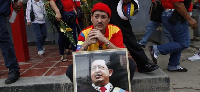 Despedida a Hugo Ch�vez
