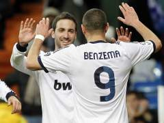Higuaín y Benzema