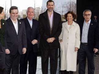 El príncipe Felipe no falta a la cita