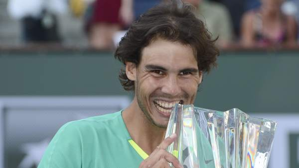 Nadal, campeón en Indian Wells