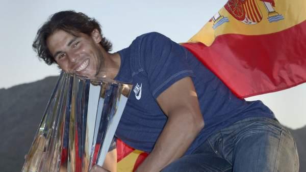 Nadal, campeón en Indian Wells