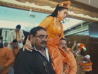 Escena de una boda en 'Palabra de gitano'