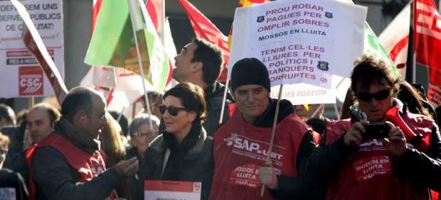 Manifestación contra los recortes.