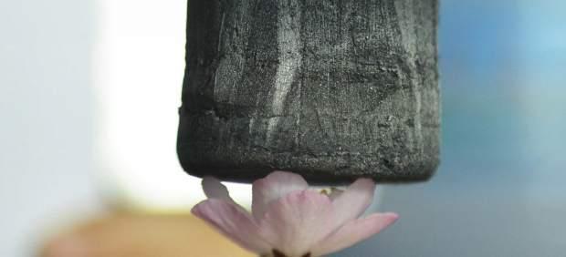 El material sólido más ligero del mundo