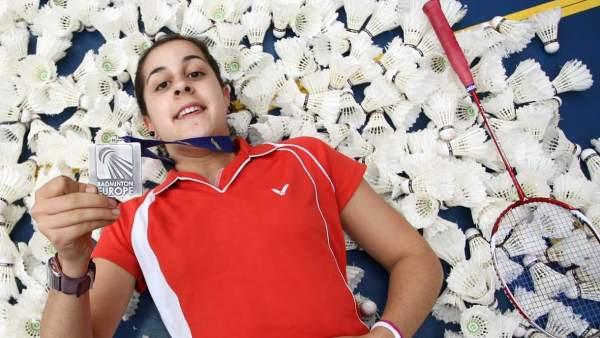 Carolina Marín, jugadora de bádminton