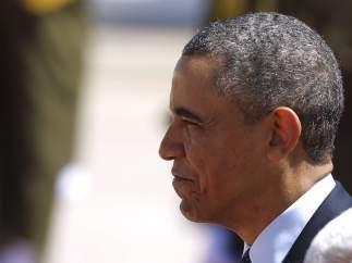Obama visita la ciudad cisjordana de Ramala.