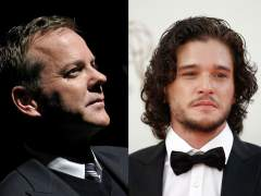 Kiefer Sutherland y Kit Harington