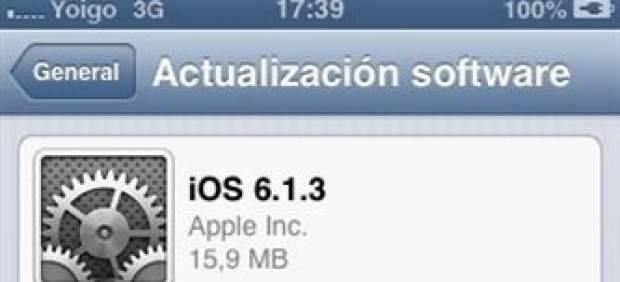La actualización iOS 6.1.3 mantiene el fallo de seguridad de la pantalla de bloqueo