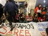 Protesta en la sede del 'banco malo'