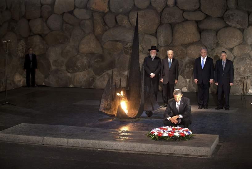 Obama homenajea a las víctimas del Holocausto