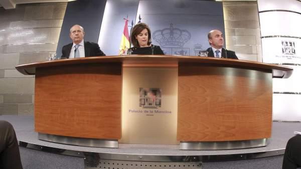 Rueda del prensa tras el Consejo de Ministros