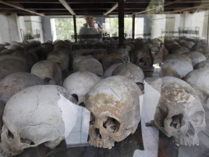 Las huellas del genocidio en Camboya