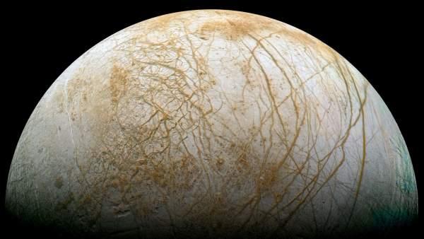 Europa, la luna helada de Júpiter con indicios de vida extraterreste, próximo destino de la NASA
