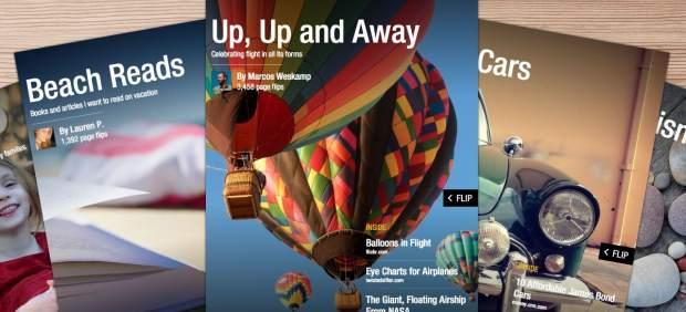 La app Flipboard permitirá a partir de ahora crear revistas personalizadas