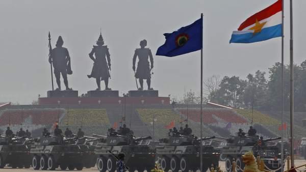 Día de las Fuerzas Armadas de Birmania