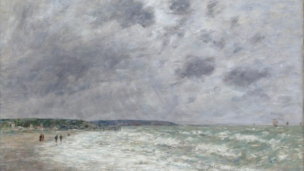 'Rising tide, Deauville'
