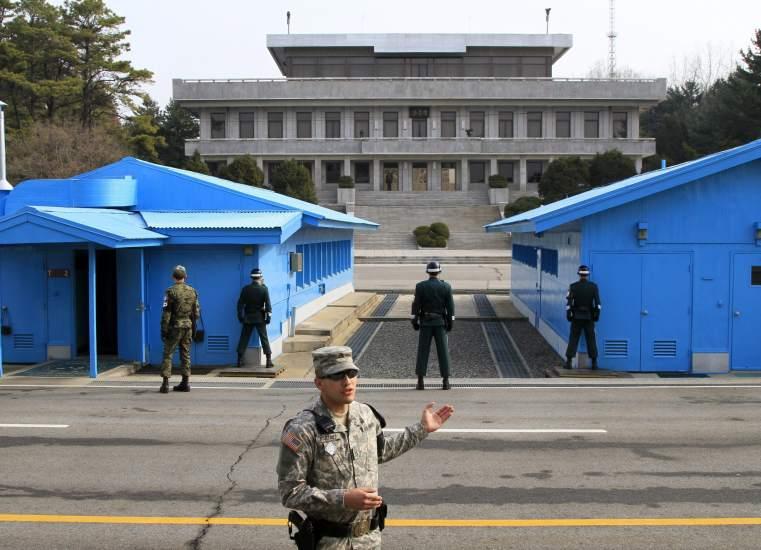 Frontera entre Coreas