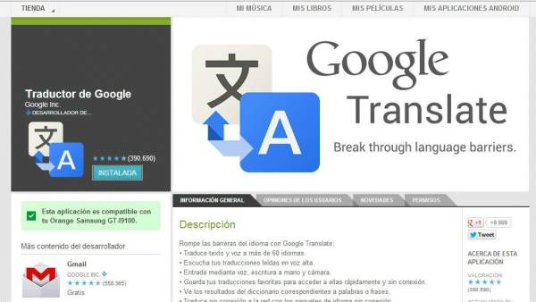 google traductor apk android 2.3