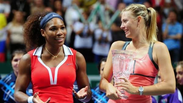 Resultado de imagen para Williams y Sharapova