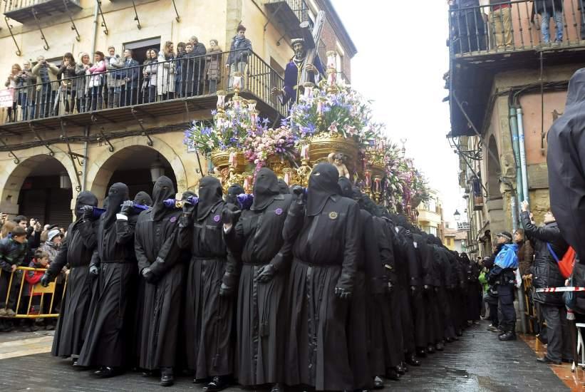 Nazarenos en León