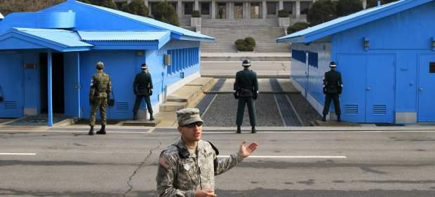 Resultado de imagen para Tensión militar en frontera entre corea del sur y norte
