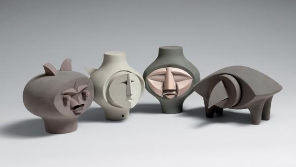 Paper sculptures - Irving Harper