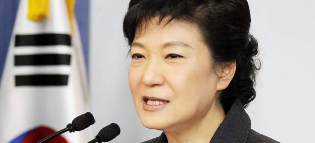 Park Geun Hye, presidenta de Corea del Sur