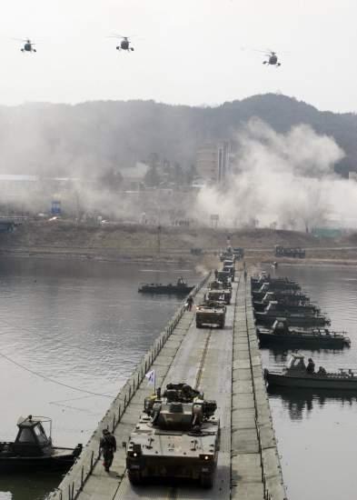 Corea del Sur se prepara para la guerra