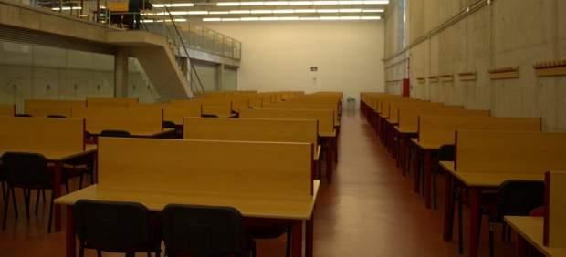 Aula de la Universidad de Murcia